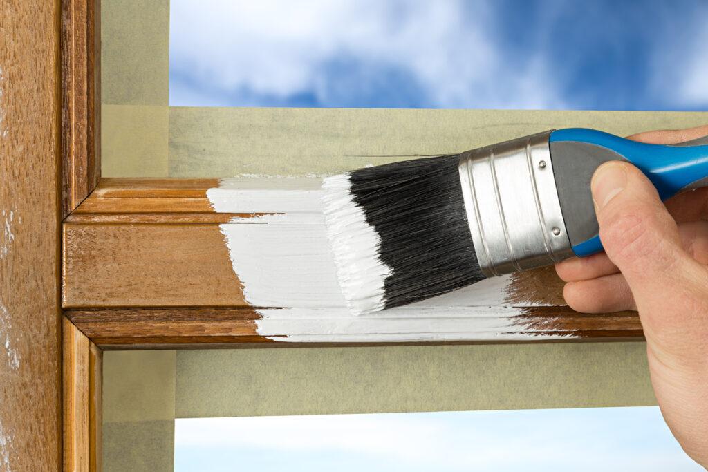 Kozijnen schilderen